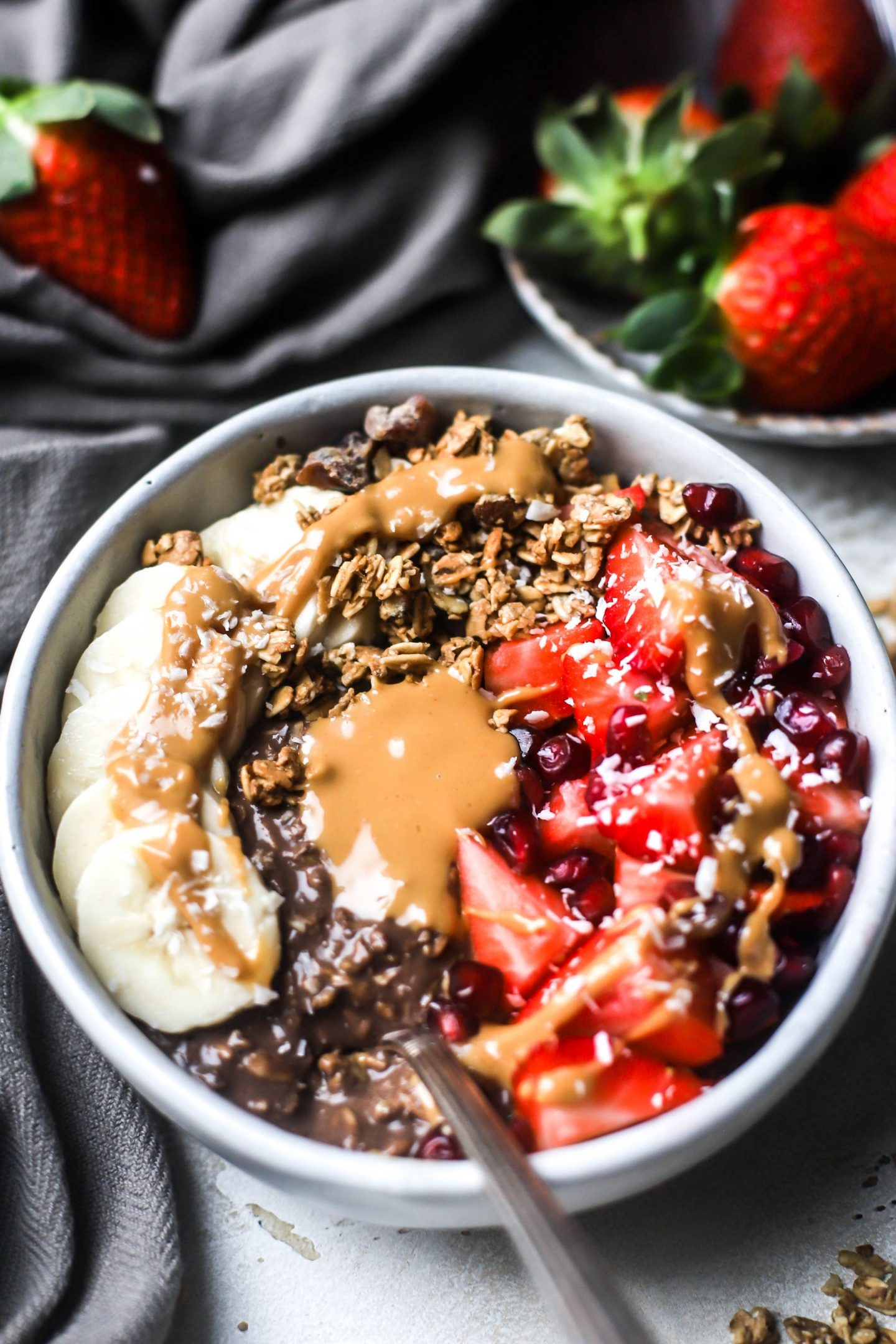 Chocolate & Coconut Overnight Protein Oats