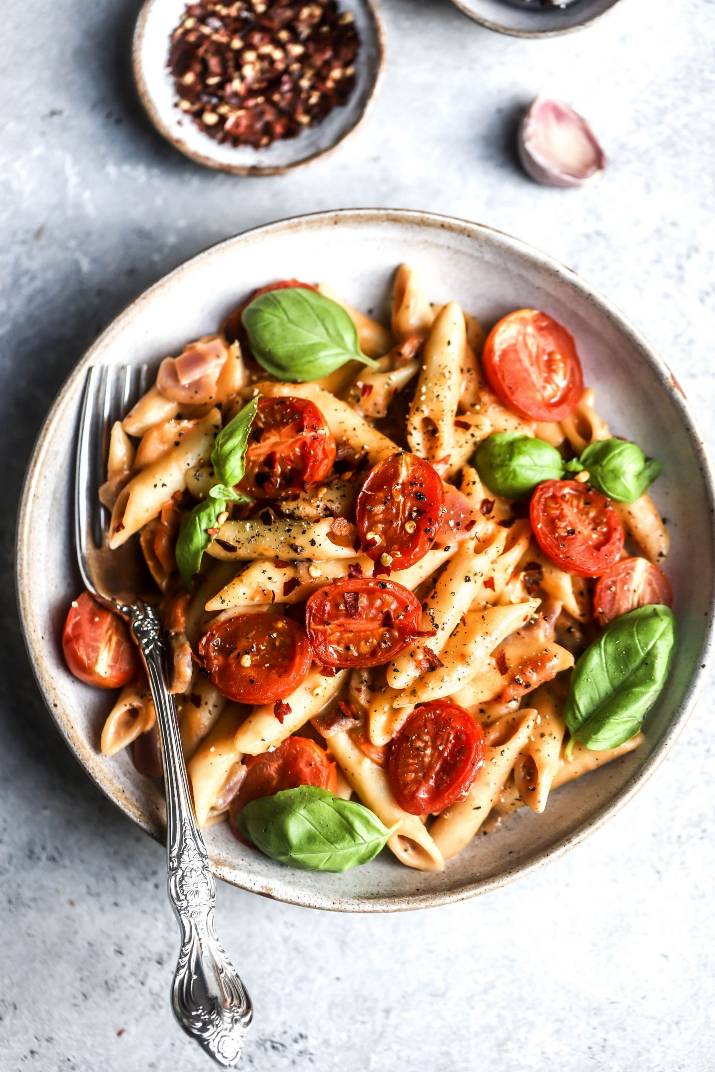 Creamy One Pot Tomato Pasta